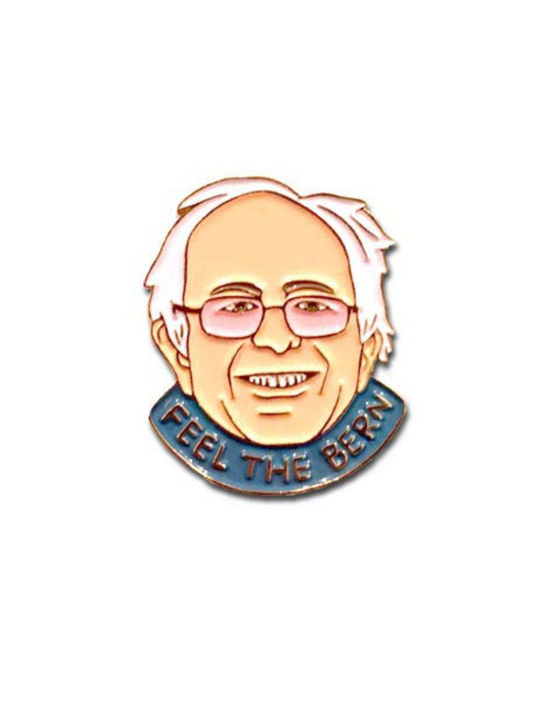 The Found Feel The Bern Bernie Sanders Enamel Pin