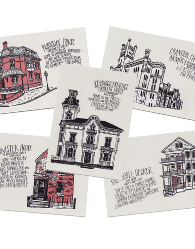 Frog & Toad Press Providence Architecture Print Set