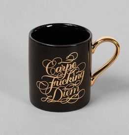 Chronicle Books Carpe Fucking Diem Mug