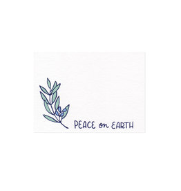 Frog & Toad Press Peace On Earth Mini Card Set of 10