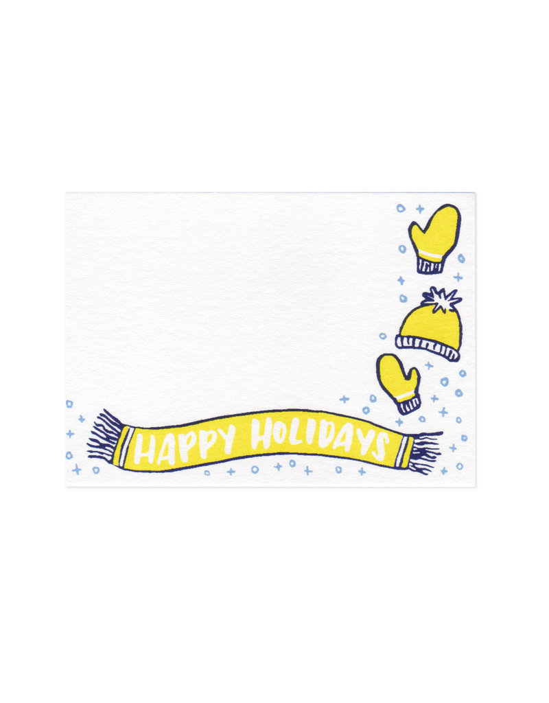 Frog & Toad Press Happy Holidays Mini Card Set of 10