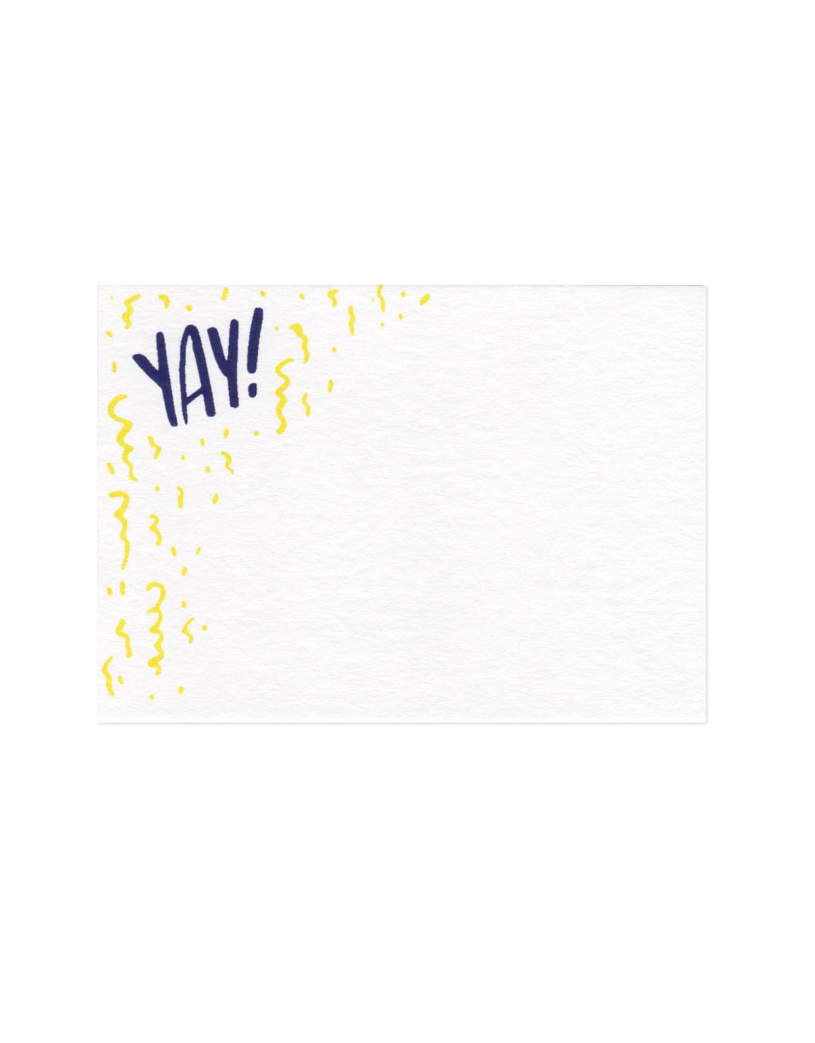 Yay! Mini Card Set of 10