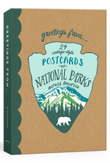Clarkson Potter Greetings From... Postcards of National Parks Across America