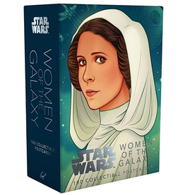 Chronicle Books Star Wars Women of the Galaxy Postcards