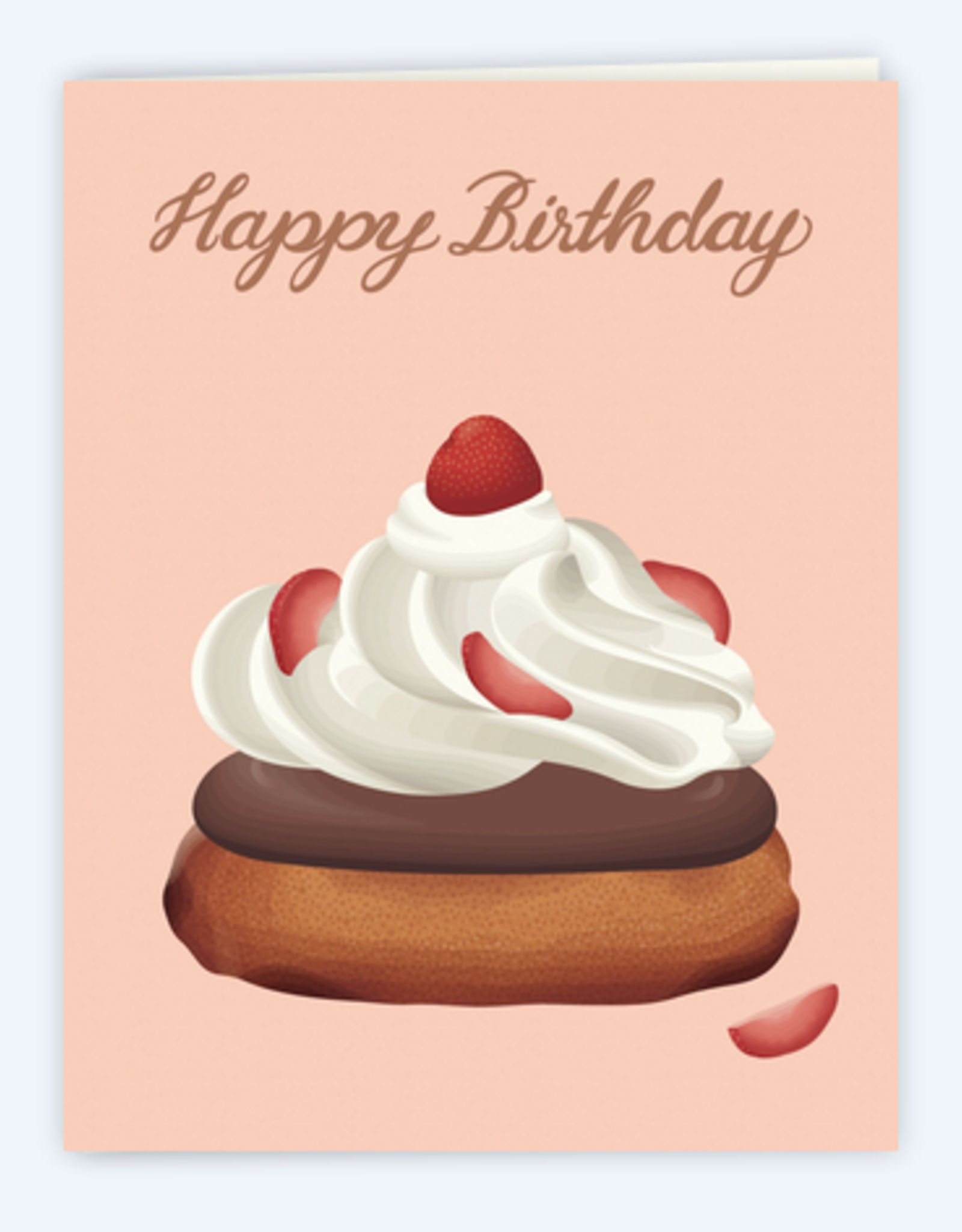Happy Birthday Strawberry Shortcake Greeting Card