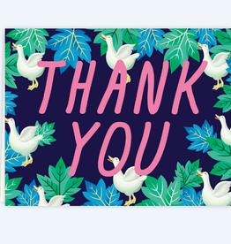 Thank You Ducks Greeting Card