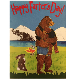 Sunde White Industries Happy Farter's Day Bears Greeting Card