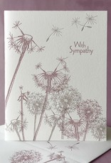 With Sympathy (Dandelions) Greeting Card