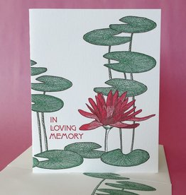 In Loving Memory (Lilly Pads) Greeting Card
