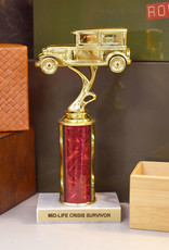 Frog & Toad Press Mid-Life Crisis Survivor Trophy