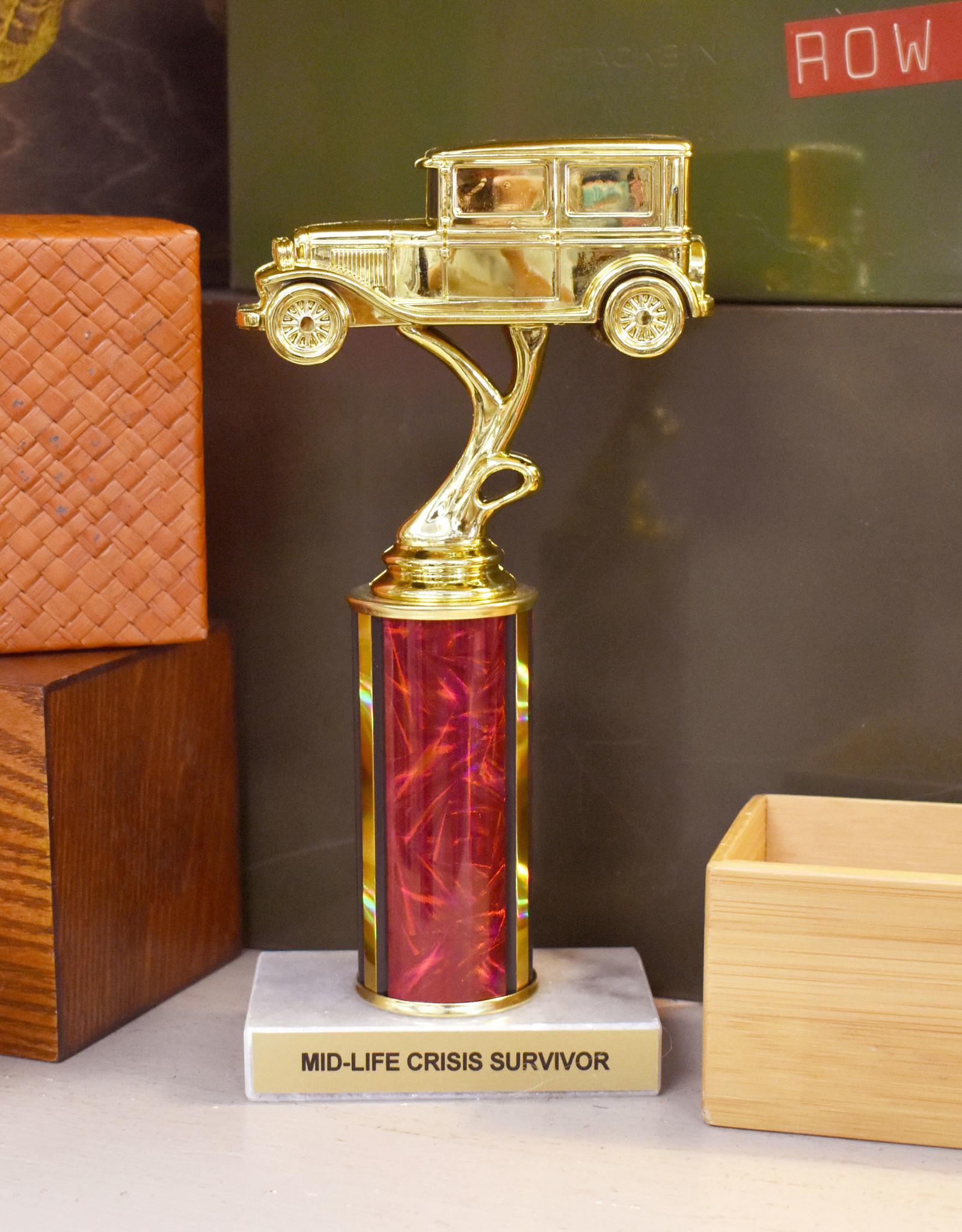 Mid-Life Crisis Survivor Trophy