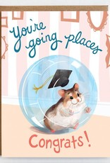 Mudsplash Studios You're Going Places Graduation Greeting Card