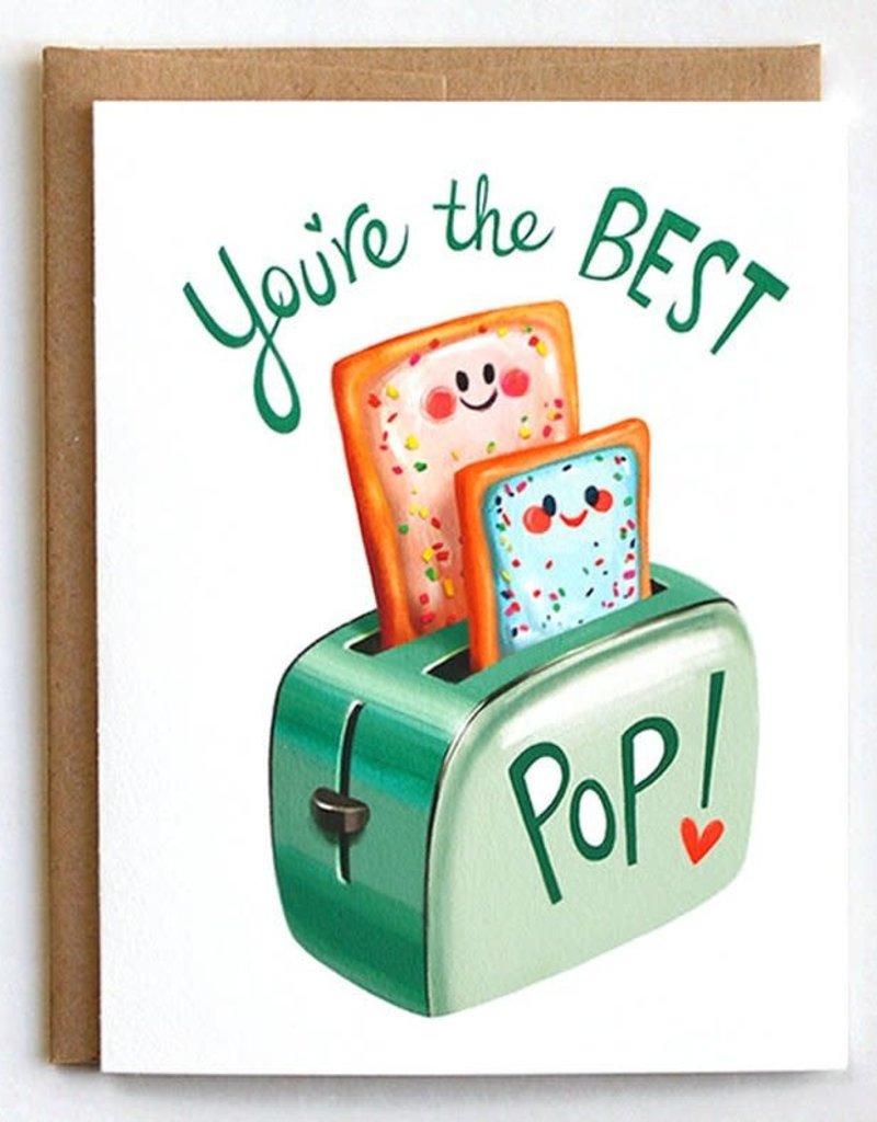 Mudsplash Studios You're The Best Pop (Tart) Greeting Card