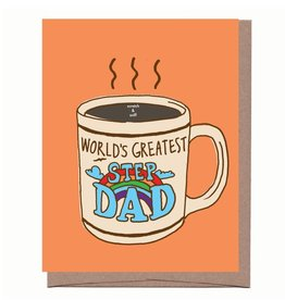 World's Greatest Step Dad (scratch & sniff) Greeting Card