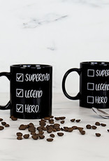 Gift Republic Super Dad Checklist Heat Reveal Mug