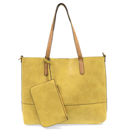 Joy Accessories Brushed 2 in 1 Tote : Chartruese