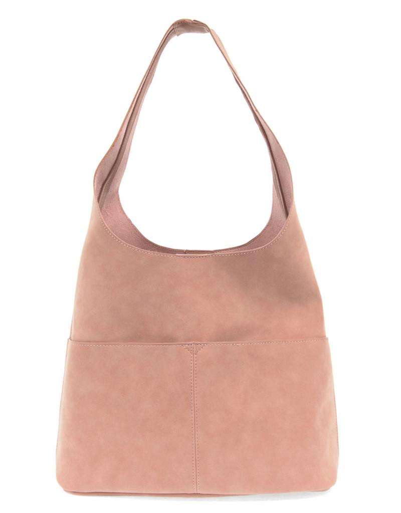 Joy Accessories Jenny Suede Hobo Handbag