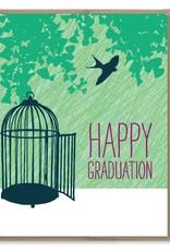 Modern Printed Matter Happy Graduation! Greeting Card
