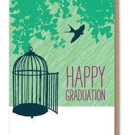 Modern Printed Matter Happy Graduation! Greeting Card