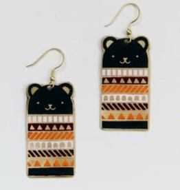 Bear Necessities Earrings - Blue