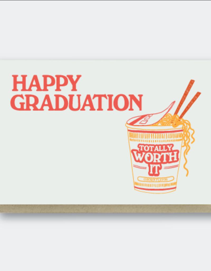 Pike Street Press Happy Graduation Ramen Greeting Card