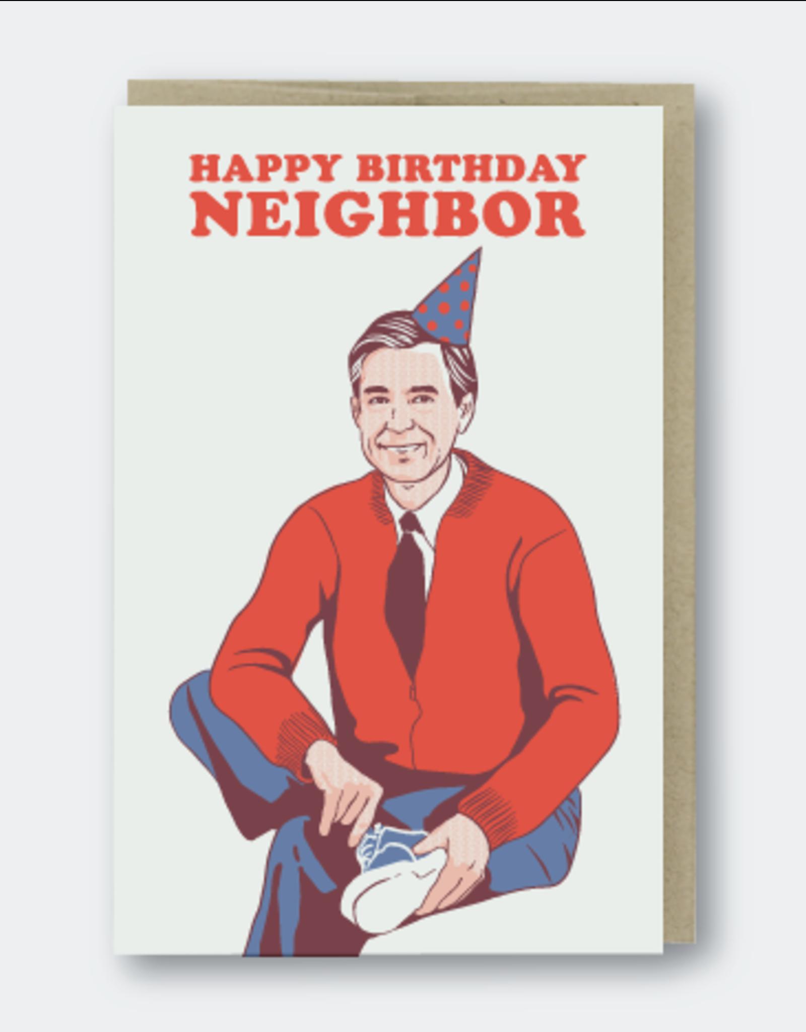 Happy Birthday Neighbor (Mr. Rogers) Greeting Card