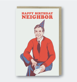 Pike Street Press Happy Birthday Neighbor (Mr. Rogers) Greeting Card