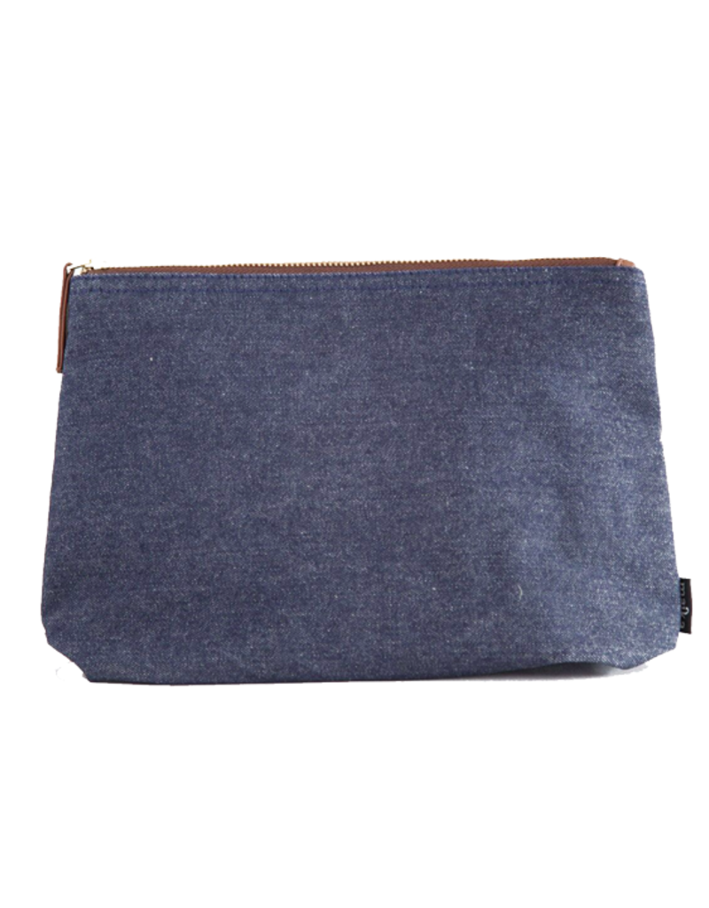 Maika Medium Pouch - Indigo Denim