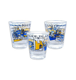 United Souvenir Rhode Island Scenes Shot glass