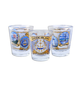 United Souvenir RI Ocean State Shot Glass