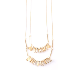 Mata Traders Leila Necklace : Gold