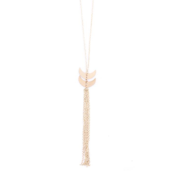 Mata Traders Twilight Tassle Necklace - Gold
