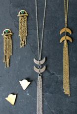 Mata Traders Twilight Tassle Necklace - Gold