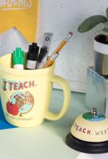 Hello World I Teach, What's Your Superpower? Mug