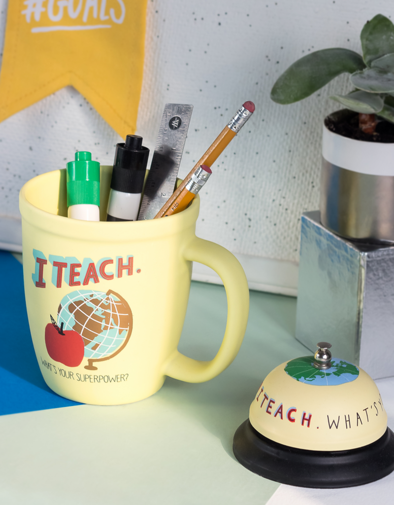Hello World I Teach, What's Your Superpower? Mug