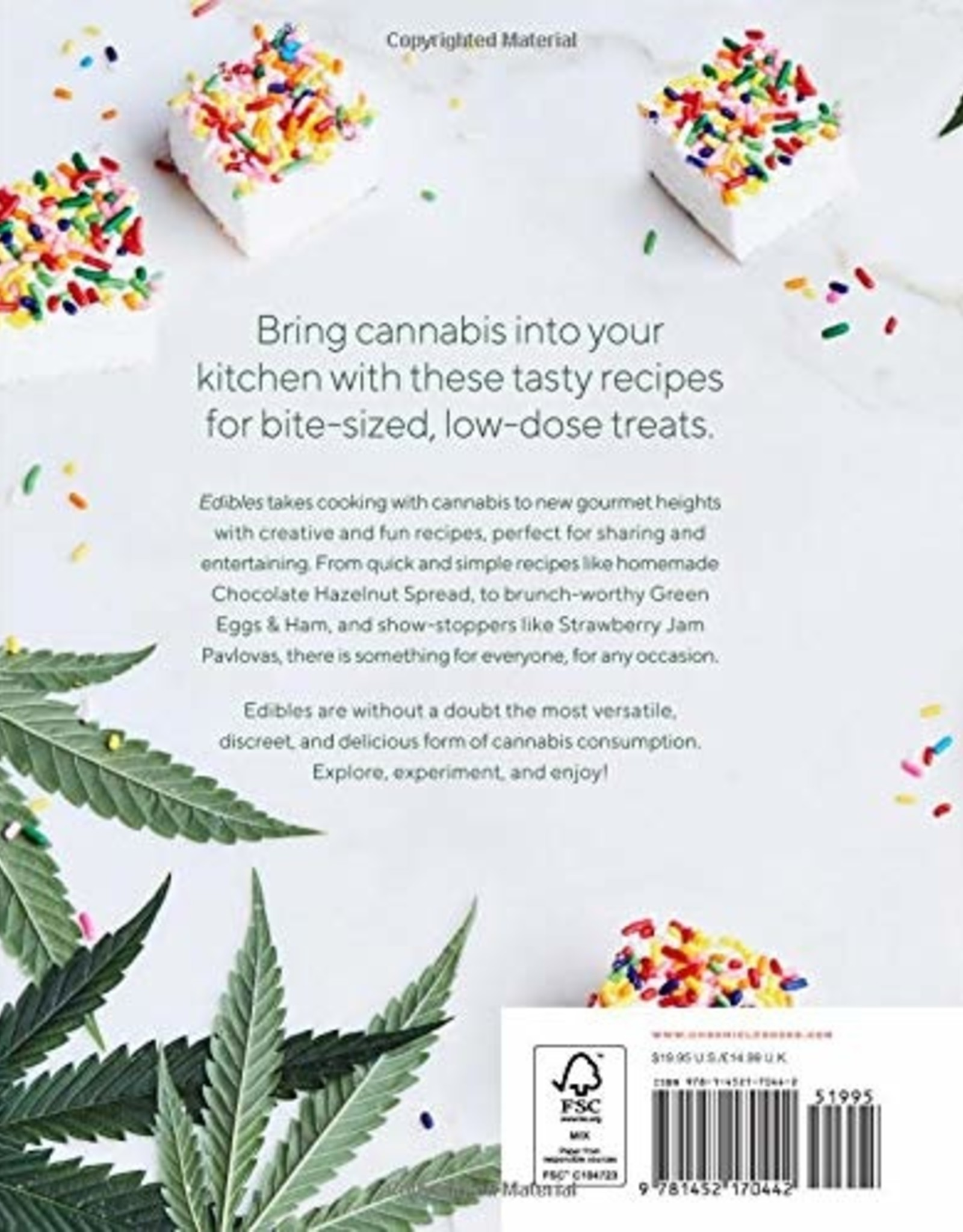 Chronicle Books Edibles - Small Bites for the Modern Cannabis Kitchen