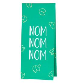Hello World Nom Nom Nom Tea Towel