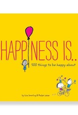 Chronicle Books Happiness Is... 500 Things To Be Happy About