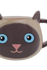 Streamline Fine Feline Mug - Siamese