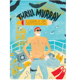 SCB Distributors Thrill Murray Coloring Book