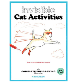 Chronicle Books Invisible Cat Activities Coloring Book