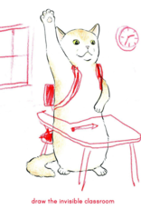 Invisible Cat Activities Coloring Book Home