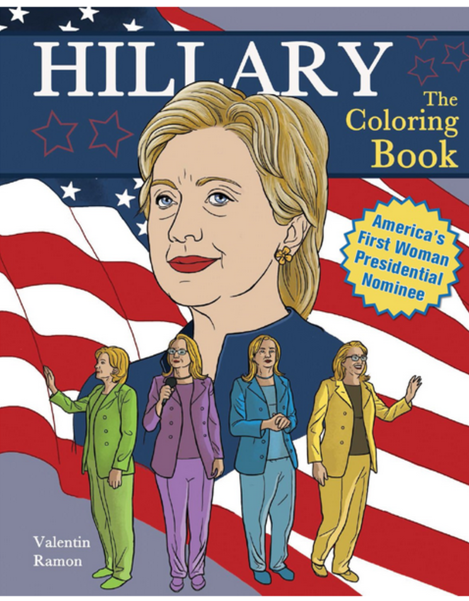 Hillary : The Coloring Book