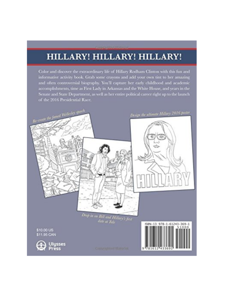 Perseus Distribution Hillary : The Coloring Book