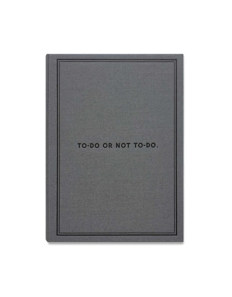 Easy, Tiger To Do or Not To Do Small Notebook