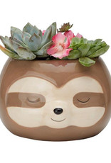 Streamline Sloth Planter