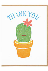 Thank You Cactus Greeting Card