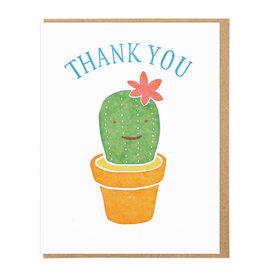 Lucky Horse Press Thank You Cactus Greeting Card