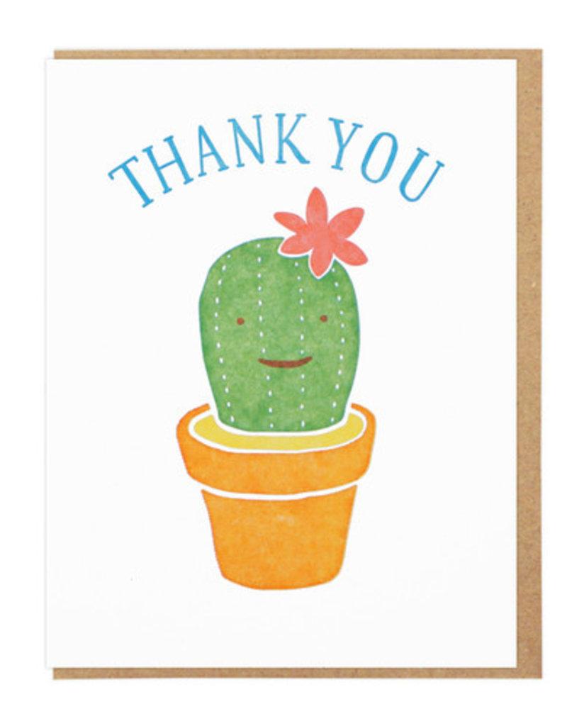 Lucky Horse Press Thank You Cactus Greeting Card