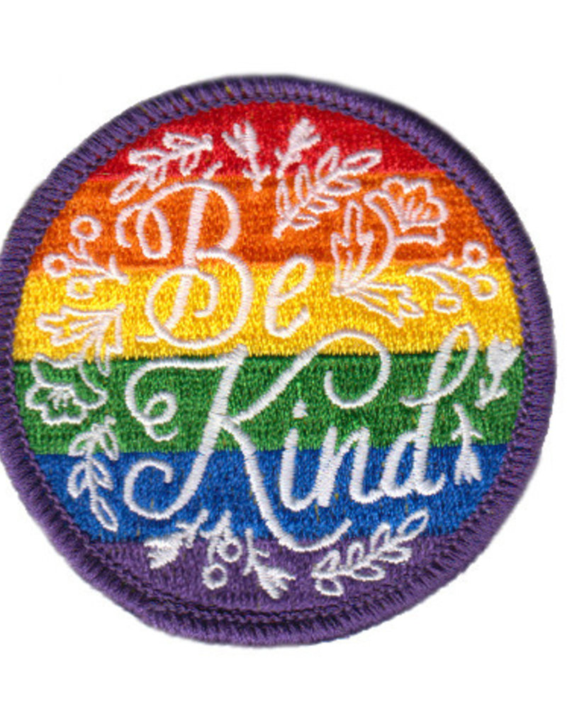 Frog & Toad Press Eighth Edition Rainbow Be Kind Patch - Youth Pride